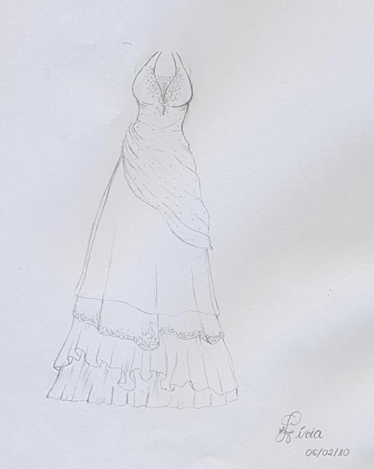 Very Beautiful Dress People Drawings Pictures Drawings Ideas For