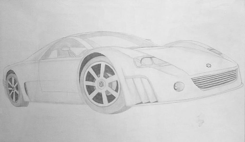 Volkswagen Concept Car Sketch Types Drawings Drawings Pictures