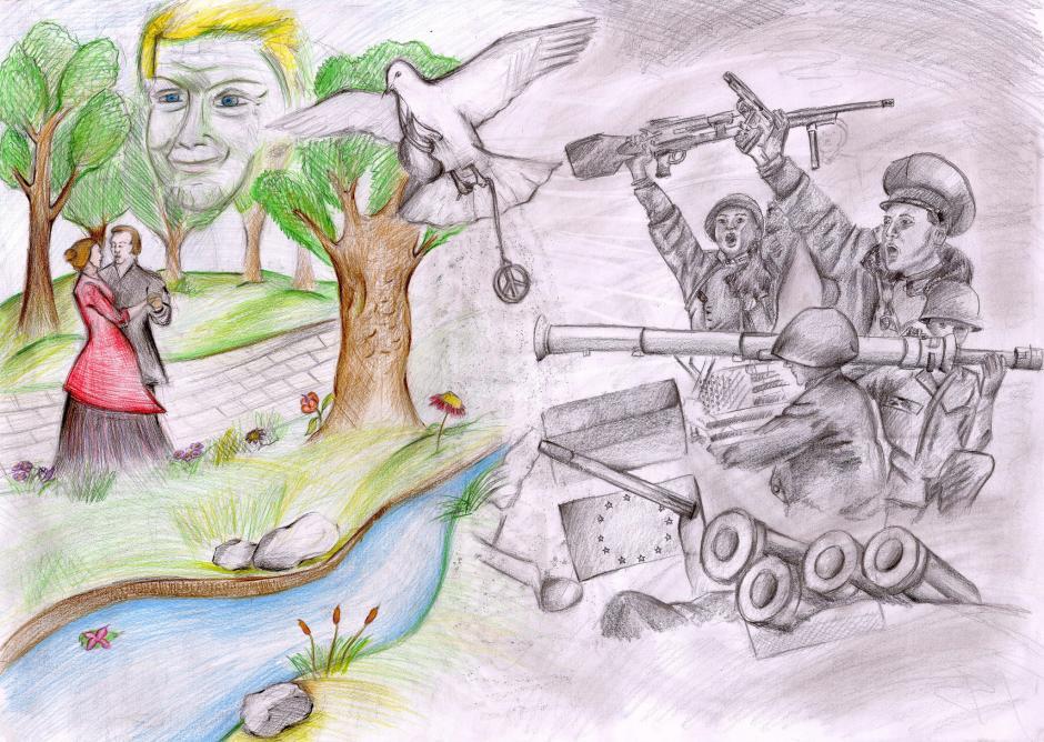 Drawings world peace