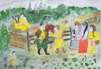 Vechornytsi.Children's Drawings