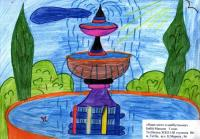 Our city in the future.Children's Drawings