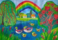 Nature.Children's Drawings