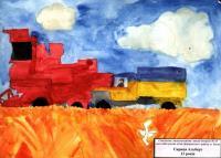 Cornfield.Children's Drawings