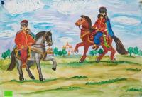 Ukraine my country.Children's Drawings