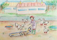 Household.Children's Drawings