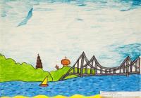 Ukraine City.Сhildren's drawings