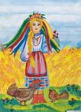 My Motherland.Children's Drawings