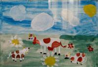 View on Pereyaslav.Children's Drawings