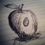 Scribble Apple