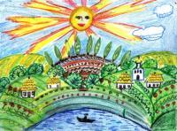 My Ukraine.Children's Drawings