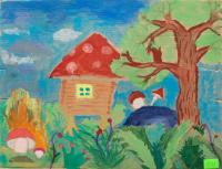 Pusha Voditsa.Children's Drawings