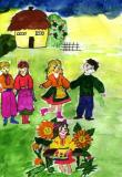 My Village.Children's Drawings