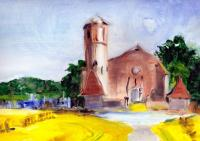 Parleboscq, the seven churches, Bouau