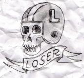 crumpled loser