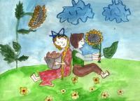 Village.Children's Drawings