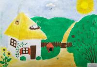 My Village.Children's Drawings