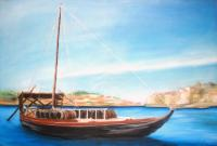 traditional douro boat
