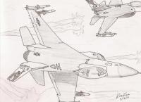 F-16 Flare Break
