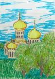 Ukraine - the center of Europe.Children's Drawings