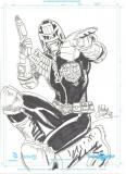 Judge Dredd by Mike Collins