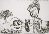 Minions - with Microns
