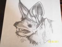 my bat drawing