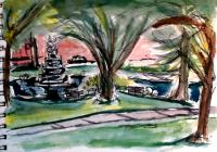 Park Watercolor