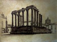 Temple of Diana - Évora