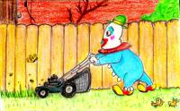 yard clown