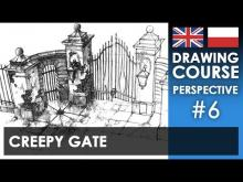 Embedded thumbnail for Drawing tutorial - Creepy gate