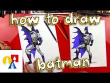 Embedded thumbnail for How To Draw Batman