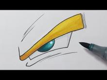 Embedded thumbnail for How to Draw a Dragon ball Z Eye - Step by Step