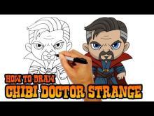 Embedded thumbnail for How to Draw Doctor Strange (Chibi)- Art Lesson for Kids