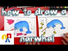 Embedded thumbnail for How To Draw A Narwhal