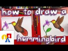 Embedded thumbnail for How To Draw A Hummingbird