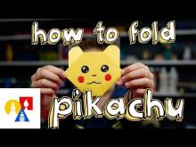 Embedded thumbnail for How To Fold Pikachu