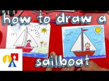 Embedded thumbnail for How To Draw A Sailboat