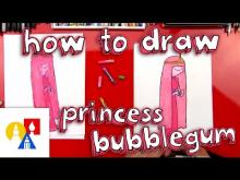 Embedded thumbnail for How To Draw Princess Bubblegum