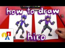 Embedded thumbnail for How To Draw Hiro