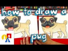 Embedded thumbnail for How To Draw A Pug