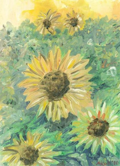 Sunflowers I presume