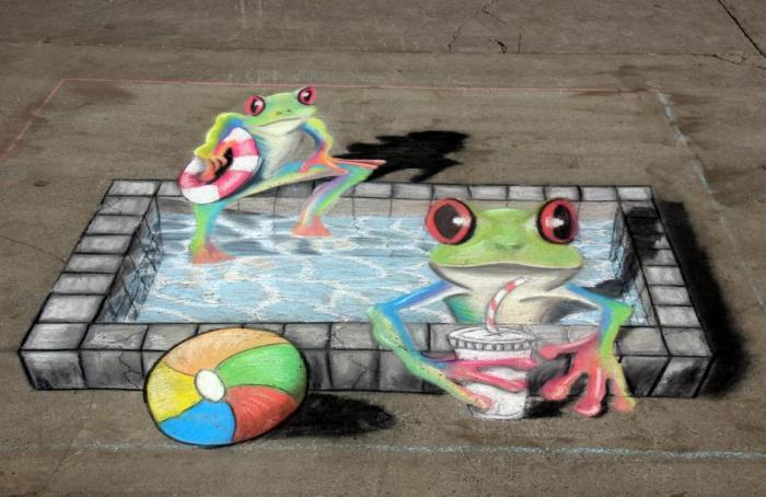 3D Frogs
