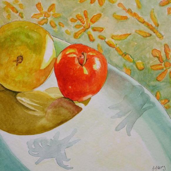 Batik Series Fruit