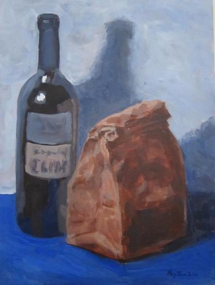 Bottle and bag