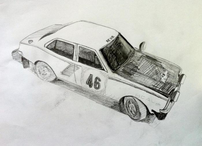 Mitsubishi Lancer 1600 Gsr Rally Car 1974 Types Drawings