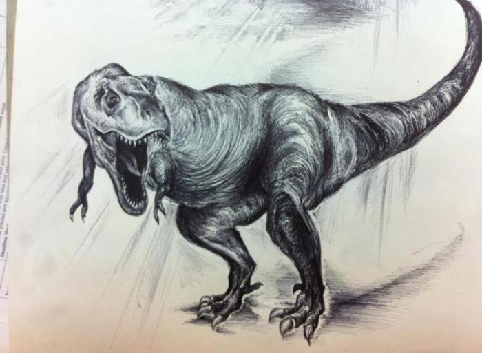 Dibujos De Dinosaurios: Dinosaur . Nature. Drawings. Pictures. Drawings Ideas For