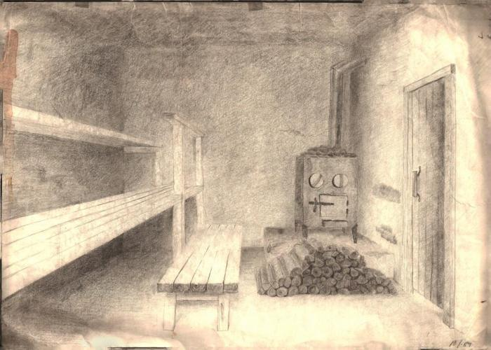 Finnish Sauna My Country Drawings Pictures Drawings