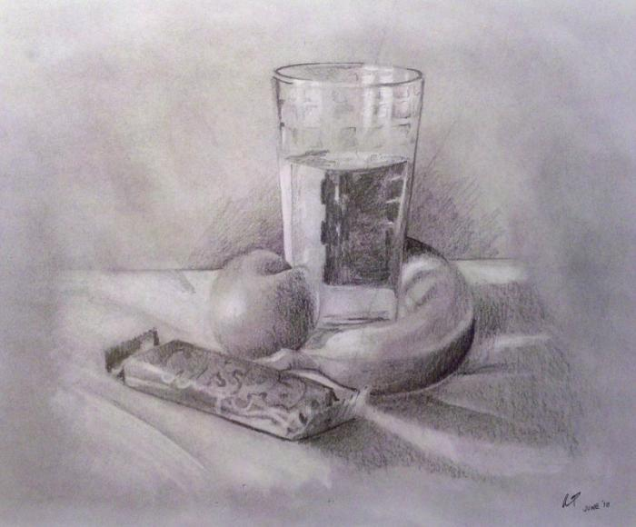 Glass Still Life Drawings Pictures Drawings Ideas For Kids Easy