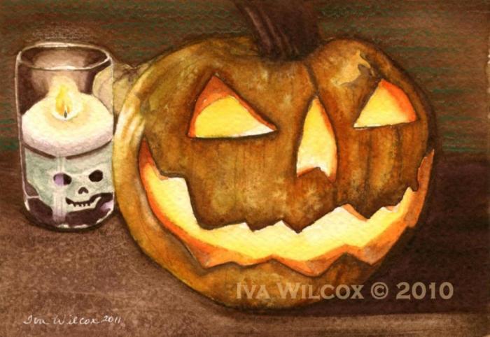 A Glowing Halloween