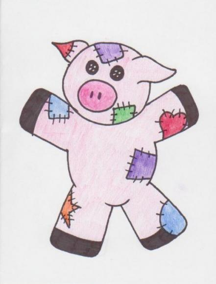 Patches the Pig